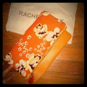 NWOT Rachel Pally Reversible Floral Clutch VEGAN